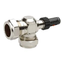 Salus BPV100 22mm Automatic Bypass Valve for Central Heating Systems