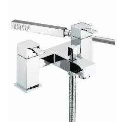 Bristan QD BSM C Quadrato Pillar Bath Shower Mixer