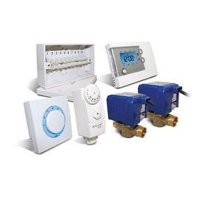Salus CP322 3 Port Thermostat Plan Pack