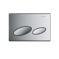 Geberit Kappa20 dual flush plate - Gloss chrome - 115.228.21.1