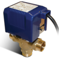 Salus 3 Port SPMV32 Premium Motorised 22mm Valve for Central Heating & Hot Water Systems with LED