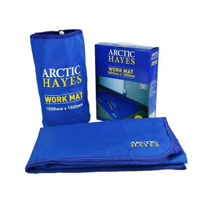 An image of Arctic Hayes Large Work Mat (180 x 150cm) Wm3