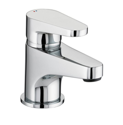 Bristan QST BAS C Quest Basin Mixer with Clicker Waste - Chrome Plated