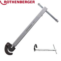 Rothenberger 70225 Telescopic Basin Nut Wrench, width 10-32