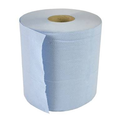 An image of Arctic Hayes Blue Paper Roll - 2 Ply (6 Pk) 445034