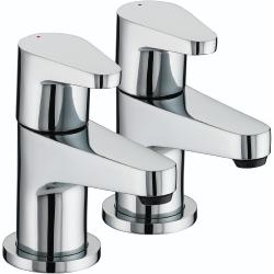 Bristan QST 3/4 C Chrome Plated Quest Bath Taps