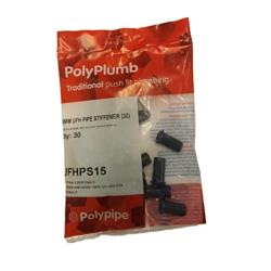 Polypipe 30 Pack 15mm UFH Pipe Stiffener/Polyplumb
