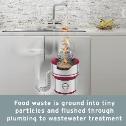 Insinkerator Evolution 200 S Premium Food Waste Disposal, .75 HP